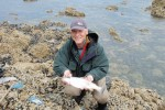 Nigel and sea trout
